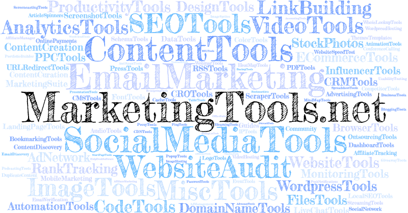 Largest List of Internet Marketing Tools (All 5500+ Tools Ranked)
